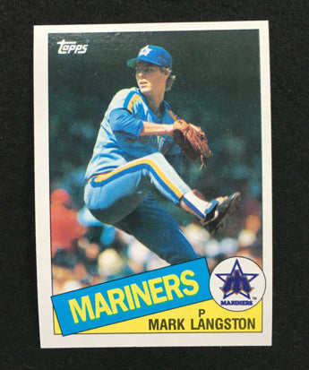 1985 Topps #625 Mark Langston Rookie Card