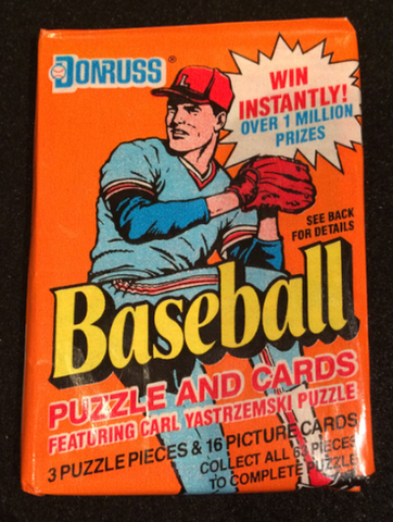 1990 Donruss Wax Pack