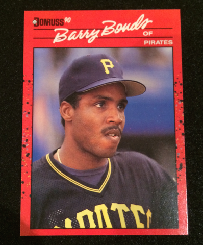 1990 Donruss Barry Bonds