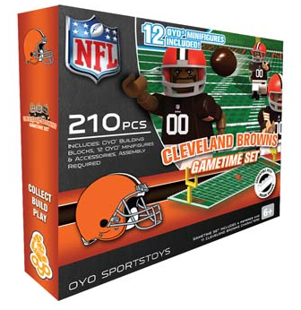 OYO Cleveland Browns Gametime 210 PCs