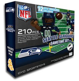 OYO Seattle Seahawks Gametime 210 PCs