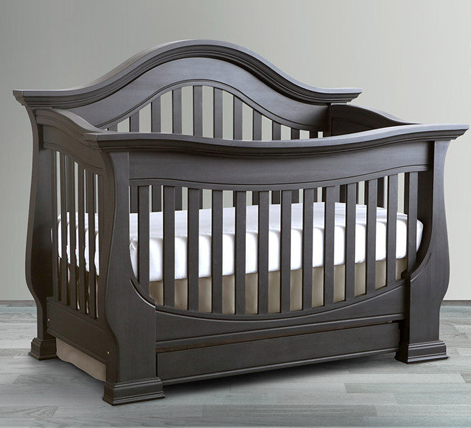 nature 39 s plush pure and organic premier full size crib. Black Bedroom Furniture Sets. Home Design Ideas