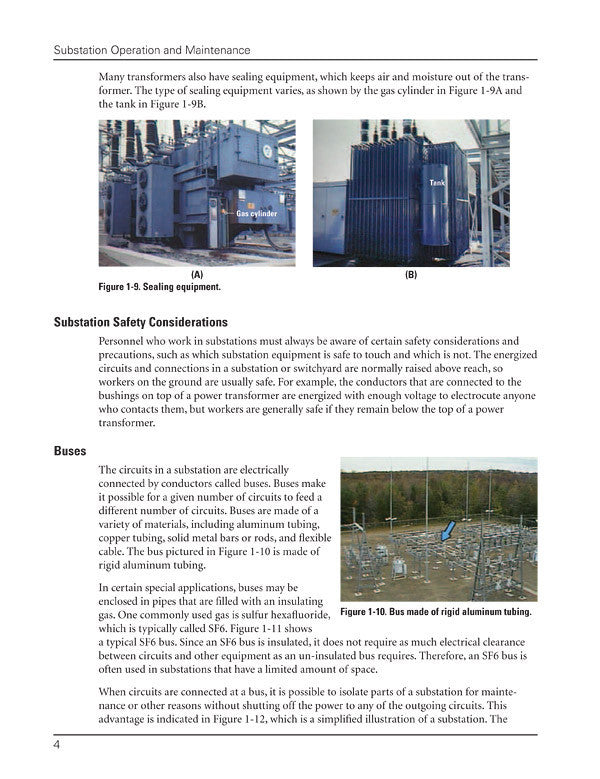 Substation Operation and Maintentance – Alexander Publications