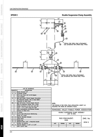Line Construction Drawings (DWG format)