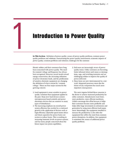 Power Quality Manual