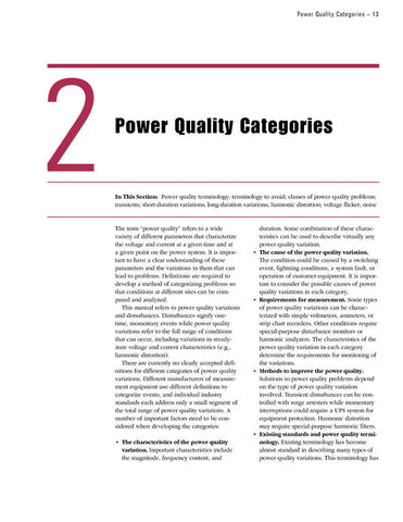 Power Quality Manual (disk)