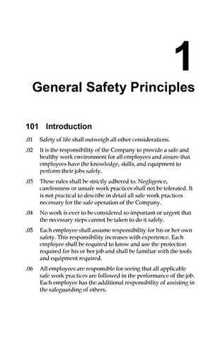 Safe Work Practices (disk & book)