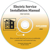 Electric Service Installation Manual (disk)