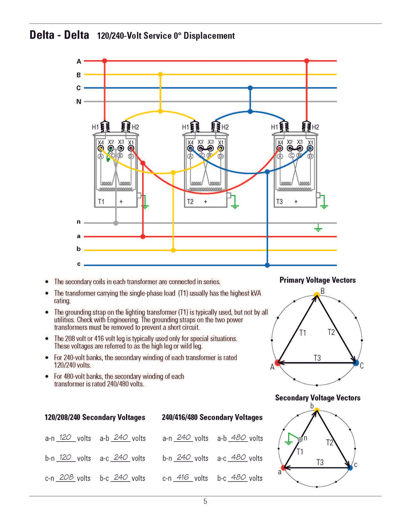 Phase Delta Wye Transformer Wiring Diagram Get Free Image About