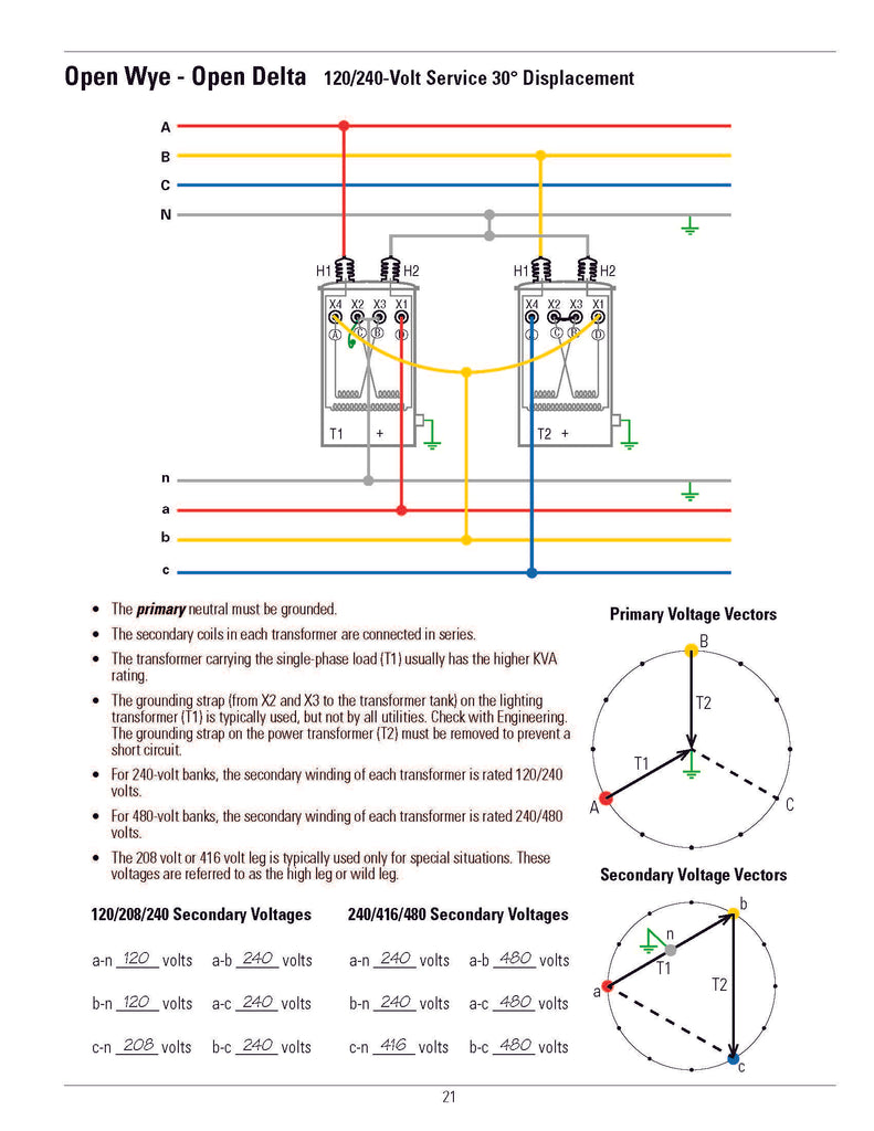 Transformer Connection Diagrams Alexander Publications Circuit Diagram Together With Pool Light Wiring
