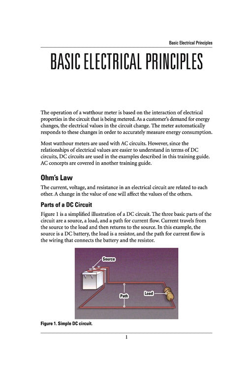 Basic Electrical Principles - Study Guide – Alexander Publications