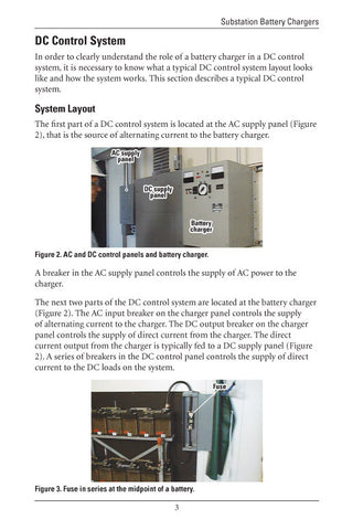Substation Battery Chargers - Study Guide