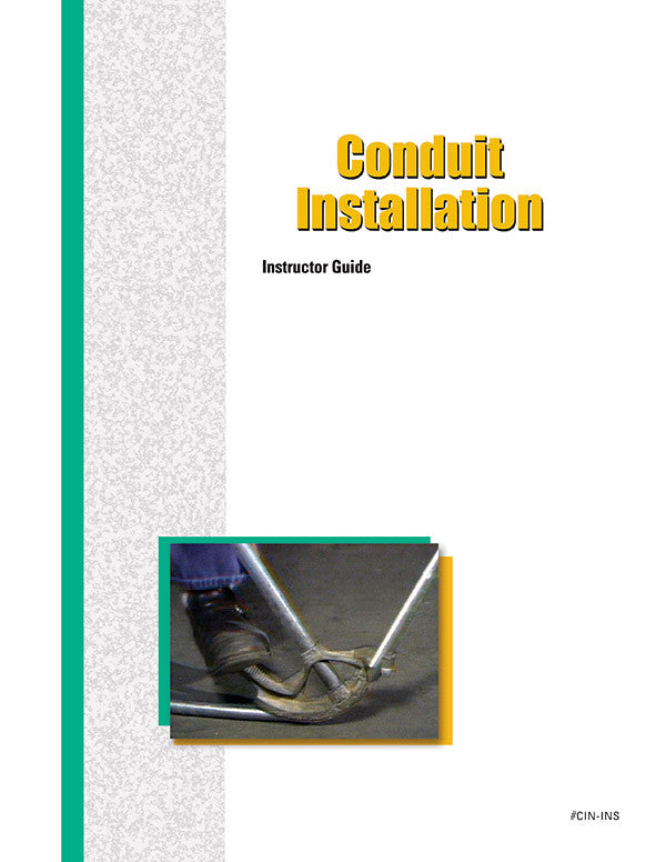 Conduit Installation - Instructor Guide