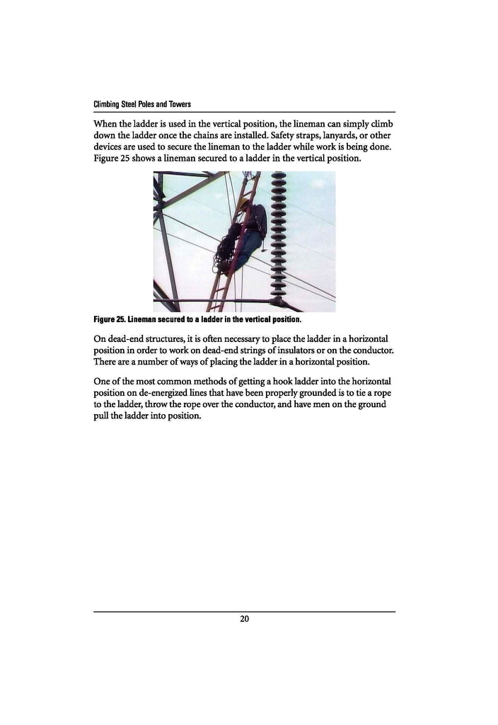 climbing steel poles and towers study guide alexander publications rh alexanderpublications com Math Study Guide Electrical Engineering