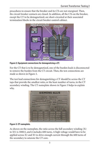 Current Transformer Testing 2 - Study Guide