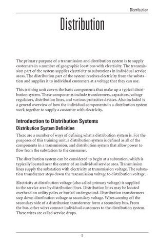 Distribution - Study Guide