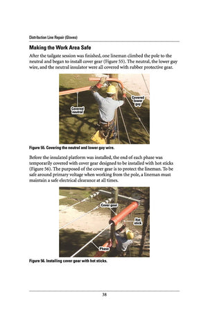 Distribution Line Repair (Gloves) - Study Guide