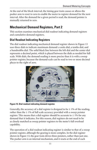 Demand Metering Concepts - Study Guide