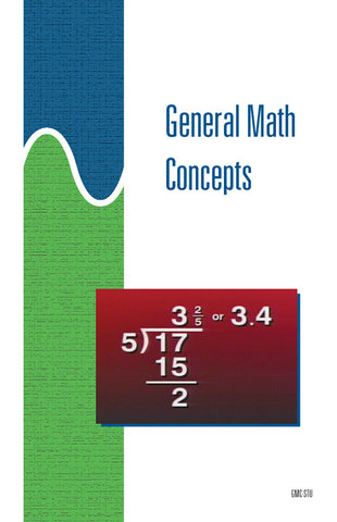 General Math Concepts - Study Guide