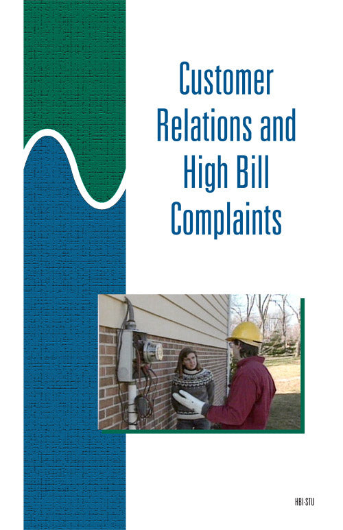 Customer Relations and High Bill Complaints - Study Guide