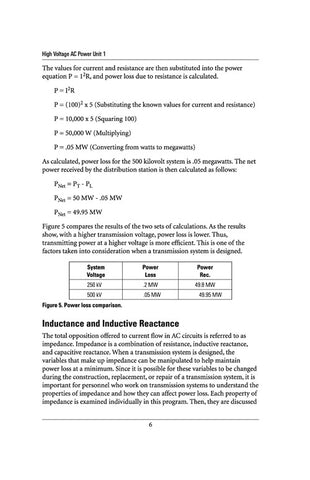 High Voltage AC Power 1 - Study Guide
