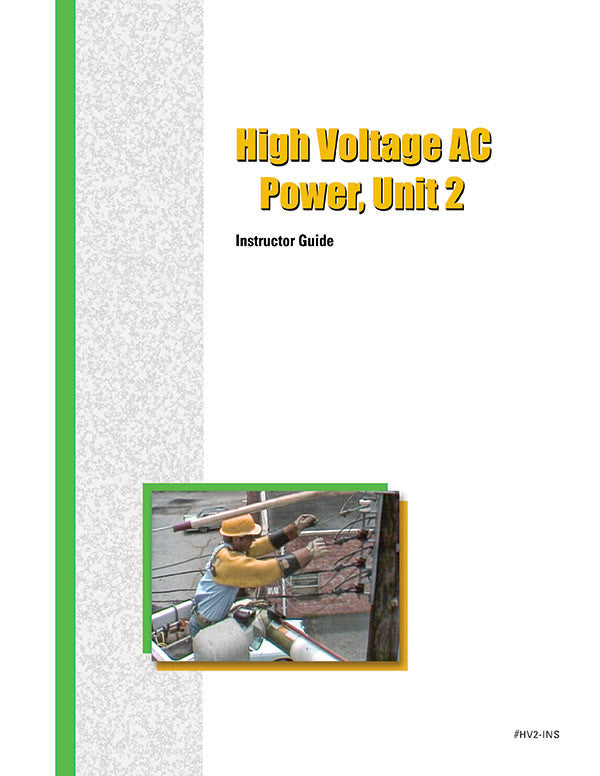 High-Voltage AC Power 2 - Instructor Guide
