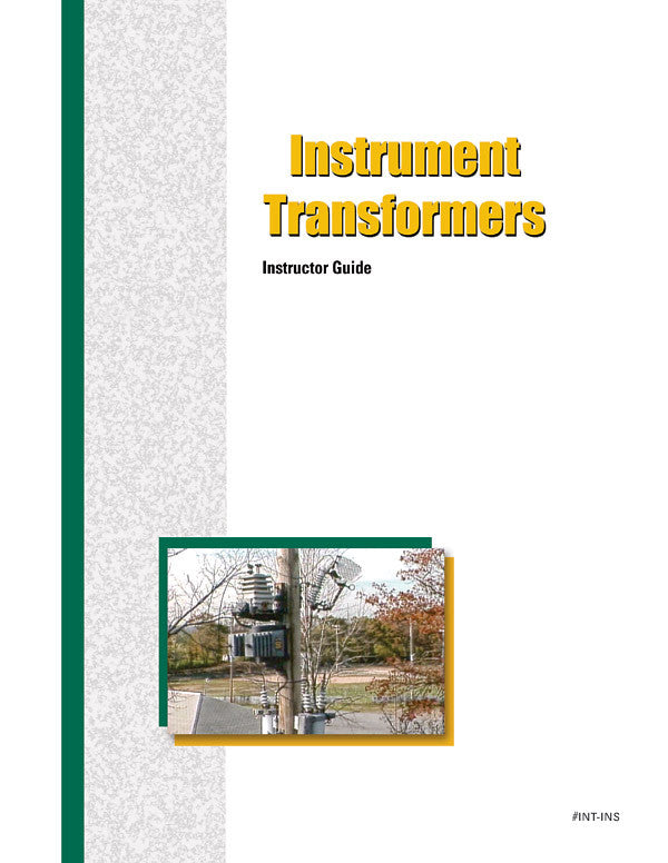 Instrument Transformers - Instructor Guide