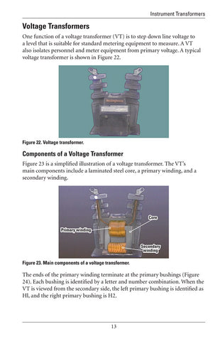 Instrument Transformers - Study Guide