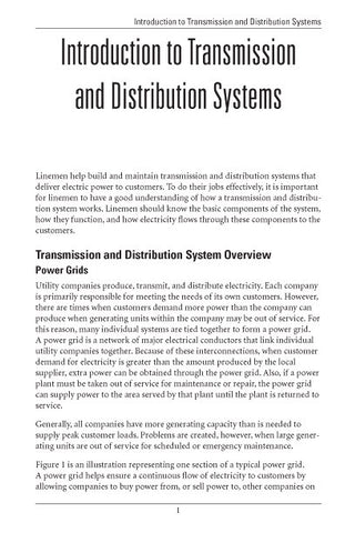 Introduction to T&D Systems - Study Guide