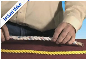 Fiber Rope Intro - Becoming A Qualified Rigger - Instant Video