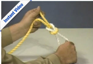 Knots - Becoming A Qualified Rigger - Instant Video
