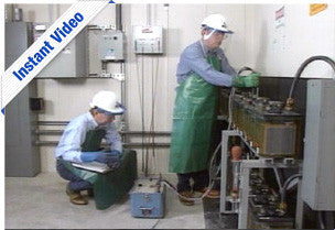 Substation Battery Testing - Instant Video