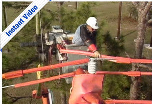 Distribution Line Repair (Hot Sticks) - Instant Video