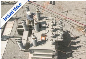 Power Transformer Insulation Resistance Testing - Instant Video