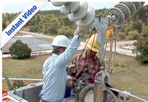 Transmission Line Installation - Instant Video