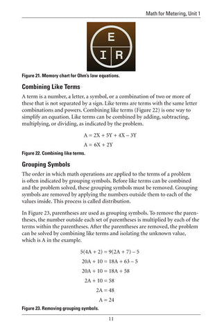 Math for Metering 1 - Study Guide