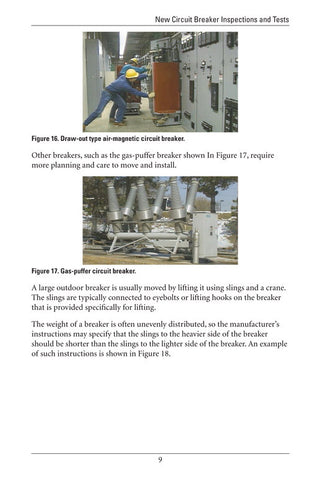 New Circuit Breaker Inspections and Tests - Study Guide