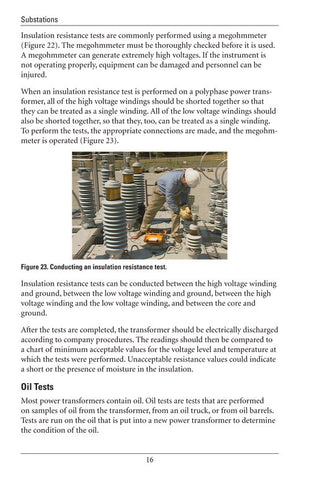 New Power Transformer Inspections and Tests - Study Guide