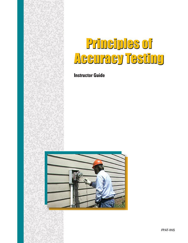 Principles of Accuracy Testing - Instructor Guide