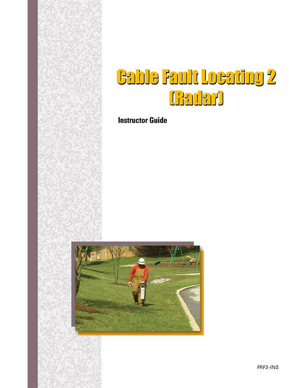 Cable Fault Locating 2 (Radar) - Instructor Guide