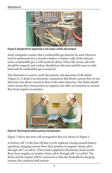 Substation battery cell and charger replacement study for Substation design guide