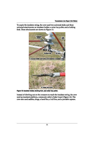 Transmission Line Repair (Hot Sticks) - Study Guide