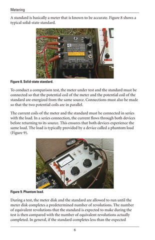 Testing Single-Phase Transformer-Rated Meters - Study Guide