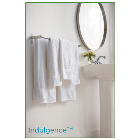 Indulgence Dobby Border Towels