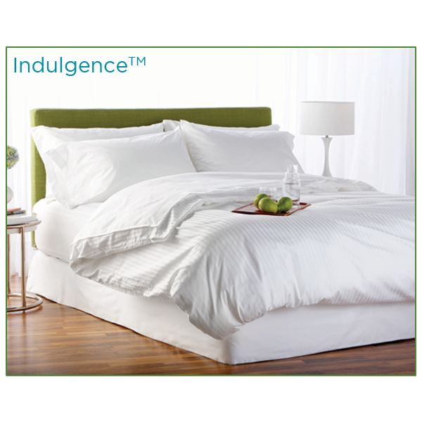 Indulgence Satin Striped Duvet Cover
