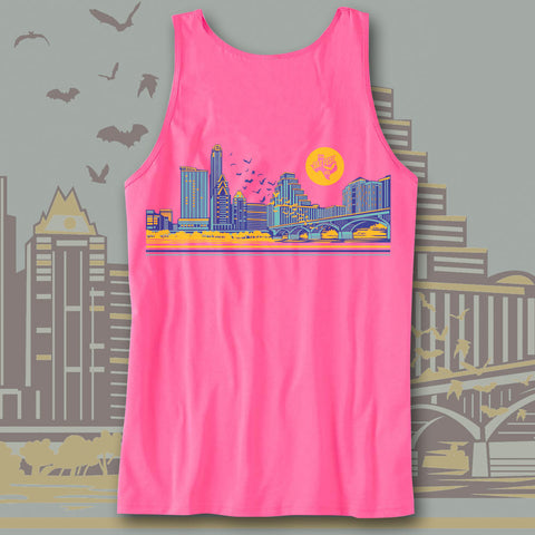 Official Bat Fest 2015 Hot Pink Unisex Tank