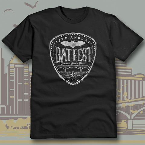 Official Bat Fest 2016 Unisex T-shirt