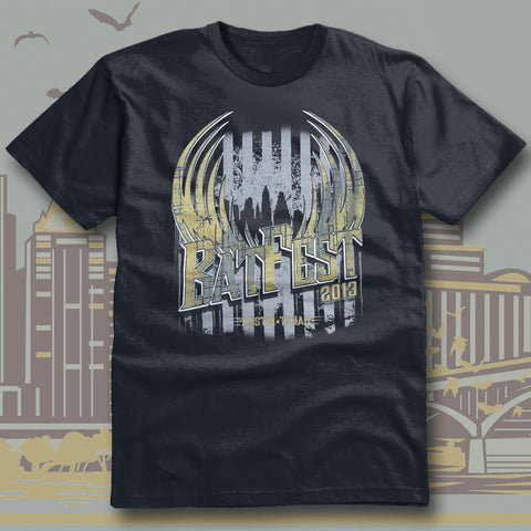 Official Bat Fest 2013 Unisex T-shirt
