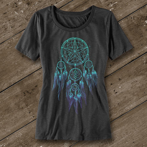 Dreamcatcher Ladies' Scoop Neck T-Shirt