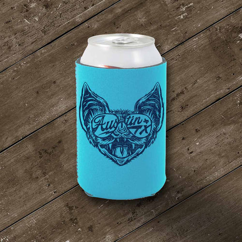Shady Bat Koozie - Aqua